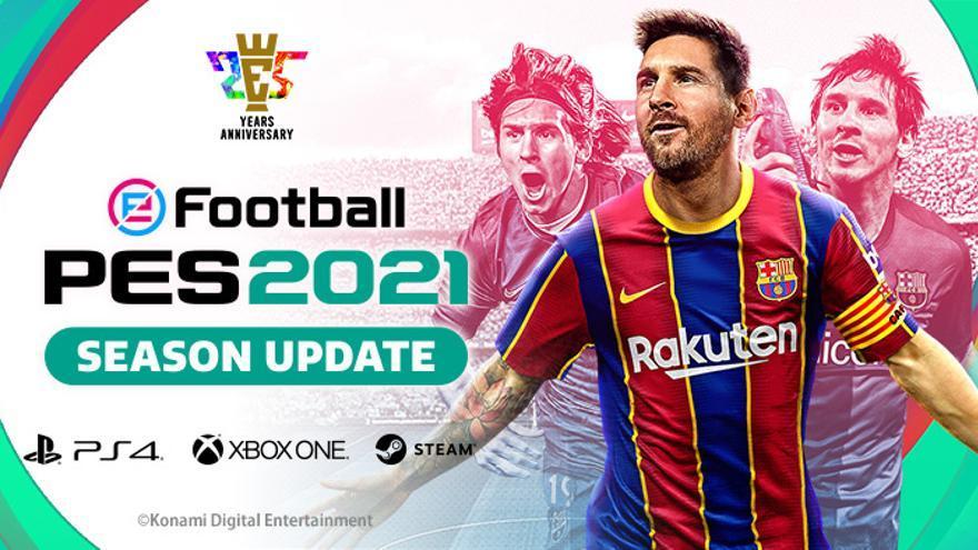 Revolución en el 'Pro Evolution Soccer' (PES): cambia de nombre, será gratuito y 100% digital