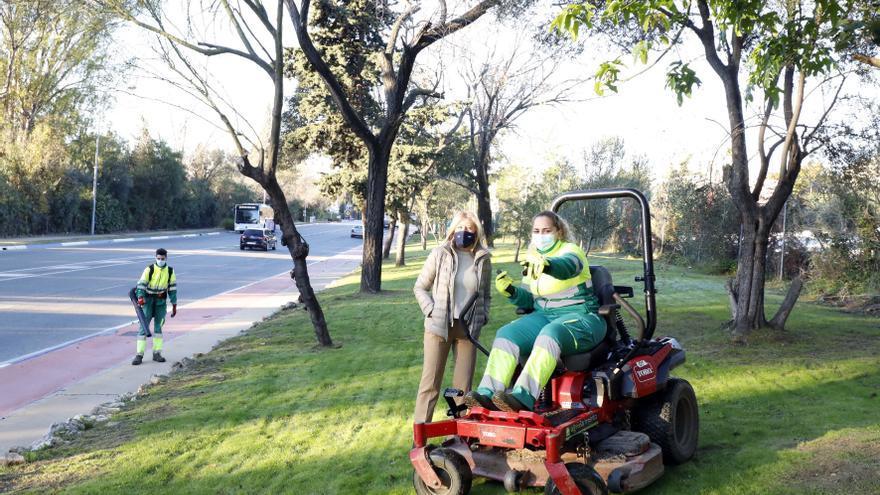 Marbella crea más de 10.700 metros cuadrados de zonas verdes con gestión inteligente de riego