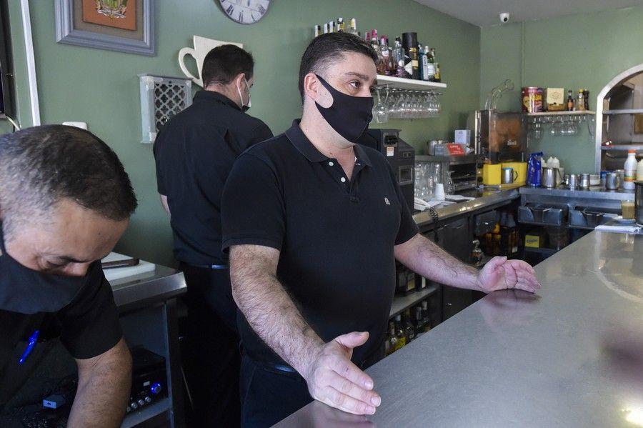 Así afrontan la alerta 3 los restaurantes y terrazas de Santa Brígida