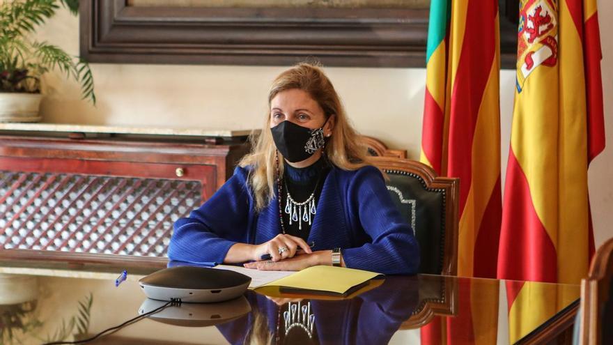 Amparo Marco pide prudencia sobre el aumento del aforo de Castalia