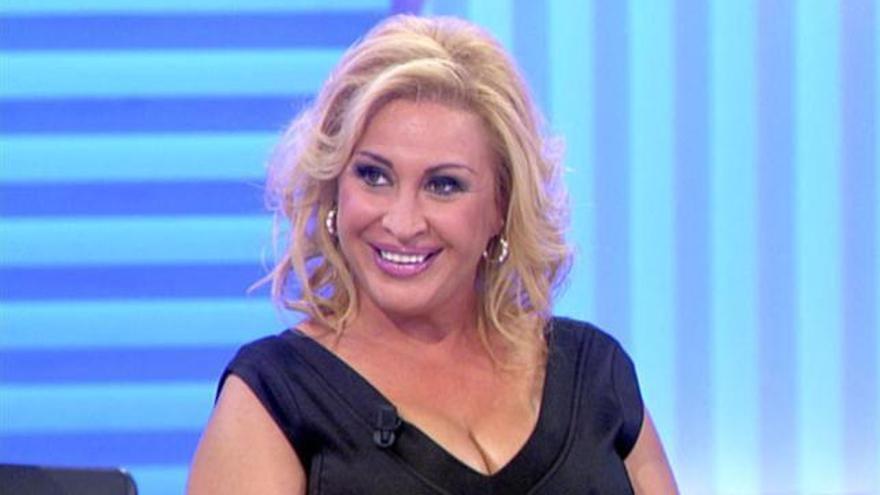 Raquel Mosquera, ingresada tras su vuelta a la televisión