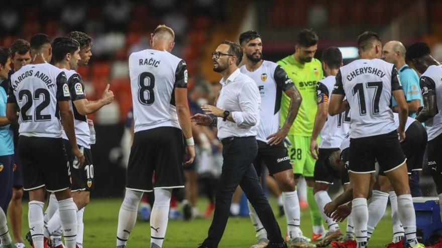 Bordalás es el líder de este Valencia CF