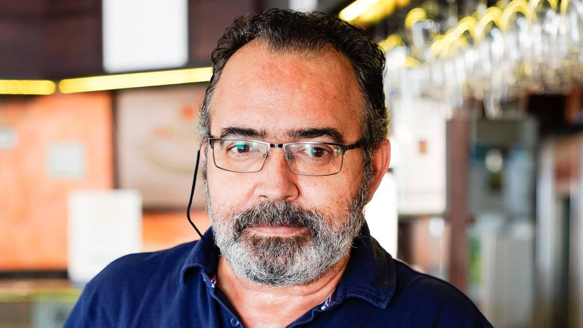 Rufino García, gerente de Pub Azahara y Cervecería Alba.
