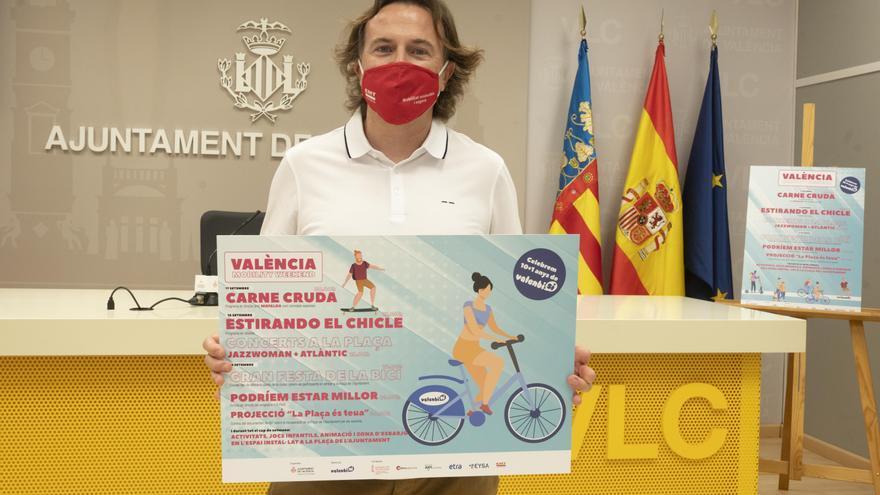 La Plaza del Ayuntamiento acogerá la 'Semana de la Movilidad'