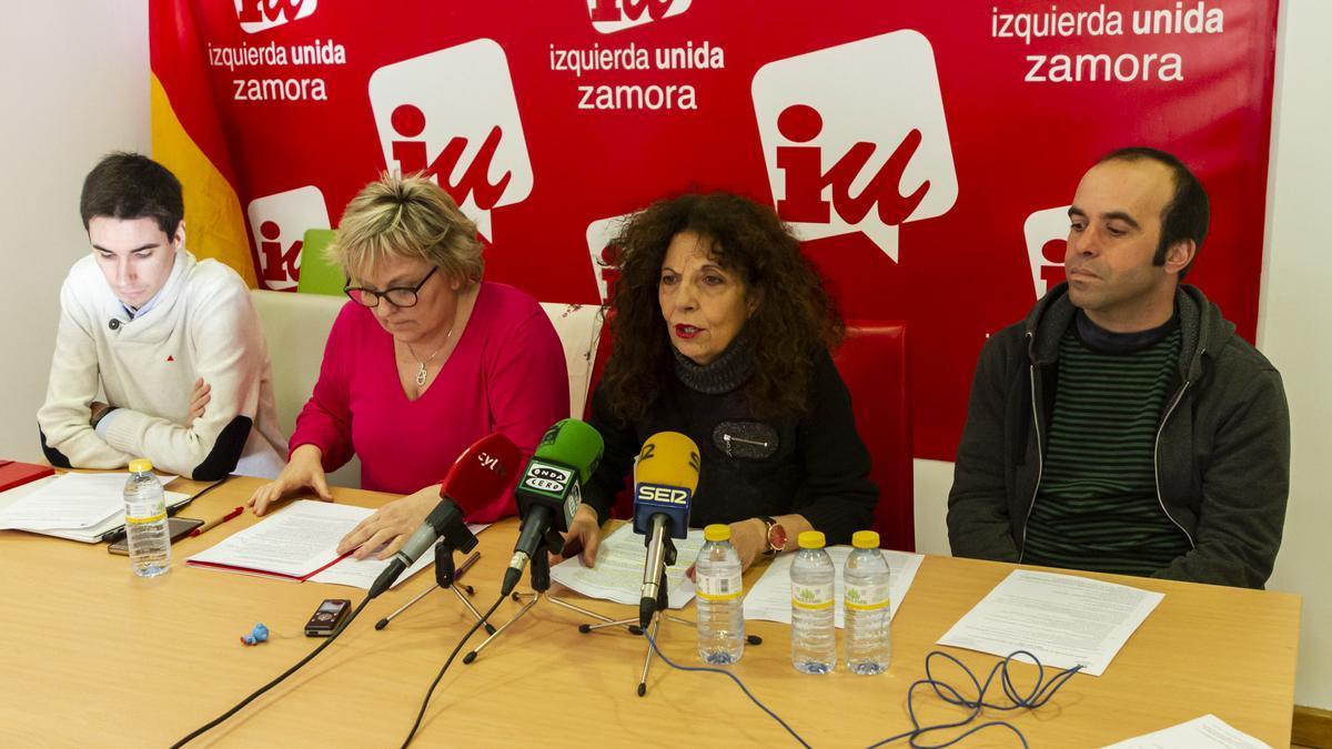 Grupo de IU en la Diputación