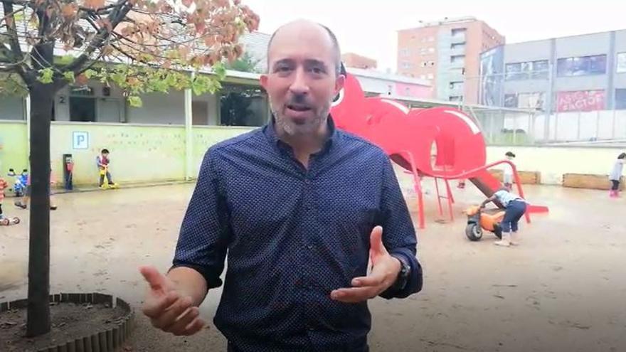 Marc Aloy explica la compra de dues finques per construir el nou edifici de l'Escola Valldaura