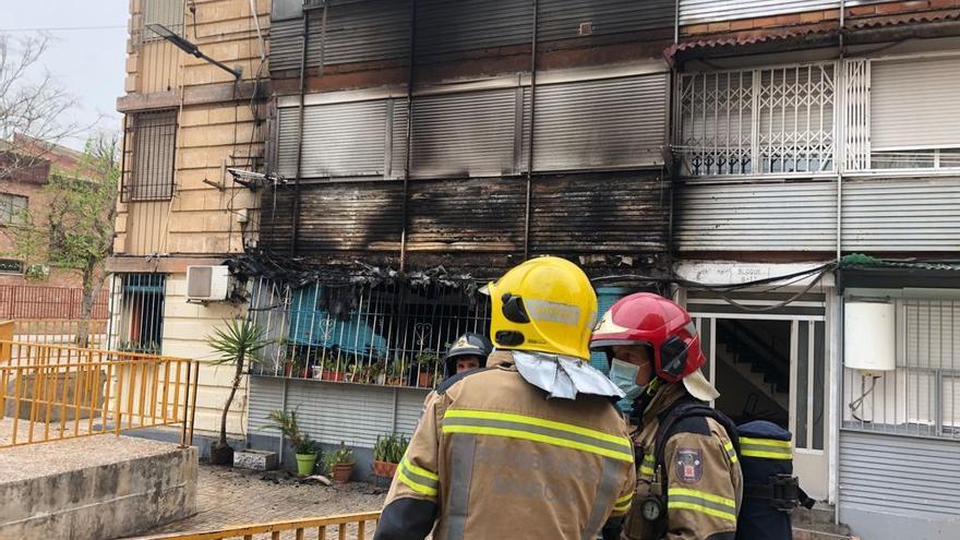 Una colilla mal apagada, culpable de un incendio en La Paz
