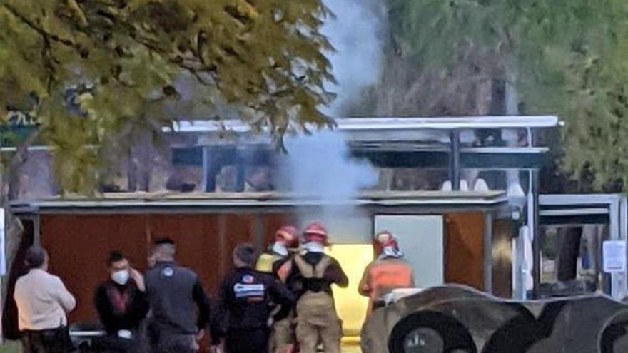 Arde una cafetería en la zona de la UJI de Castelló