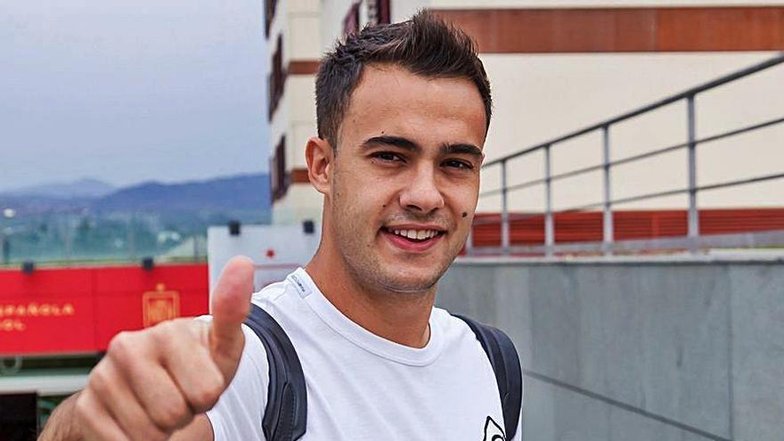El zamorano Sergio Reguilón se incorpora a la Selección Española de Fútbol