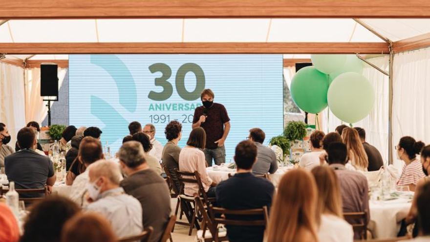 Liquats Vegetals fa 30 anys amb més de 80 milions de facturació