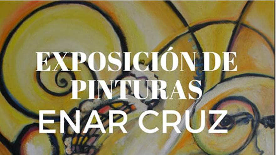Exposición pictórica de Enar Cruz Solórzano