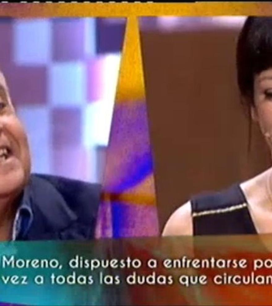Quan Yolanda Ramos va dir a José Luis Moreno que li devia diners en directe