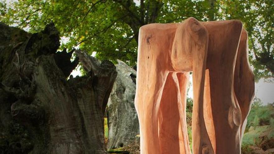 Exposición escultórica José Manuel López Toirán