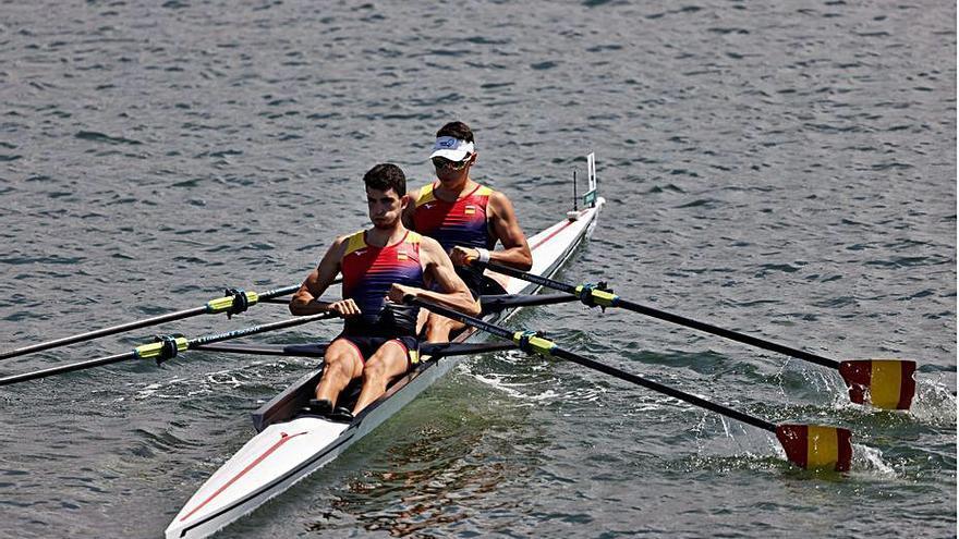 Balastegui acaba segon i avança a les semifinals