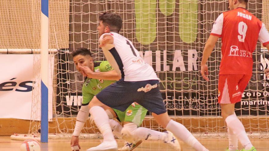 Mataró i Calvià seran els primers rivals del Manresa i el Sala 5, respectivament