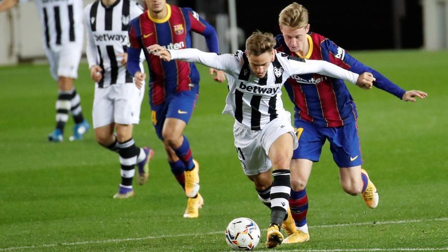 Sigue en directo el FC Barcelona - Levante UD