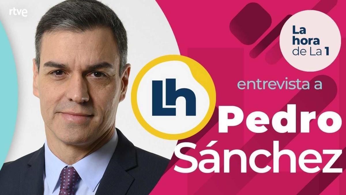 Pedro Sánchez, el lunes en 'La hora de La 1'.