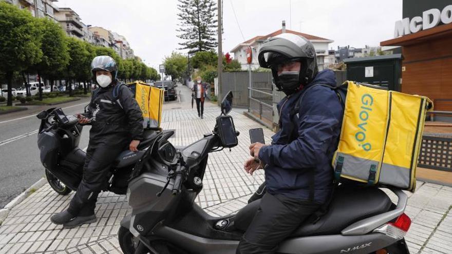 Así es cómo Uber Eats esquiva, también en Vigo, la nueva ley Rider