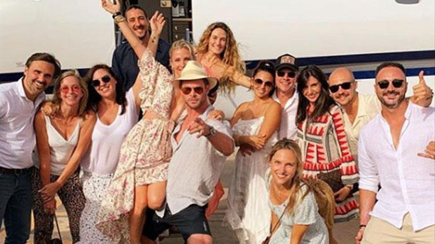 La impresionante fiesta de cumpleaños de Elsa Pataky en Ibiza