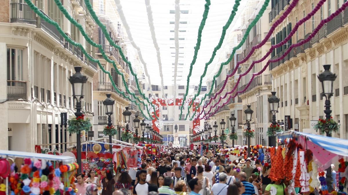 Imagen de la Feria del Centro de hace unos años.