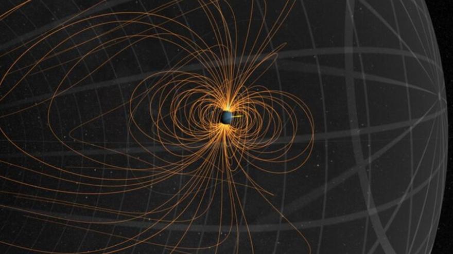 Un extraño hielo caliente domina los campos magnéticos de Urano y Neptuno