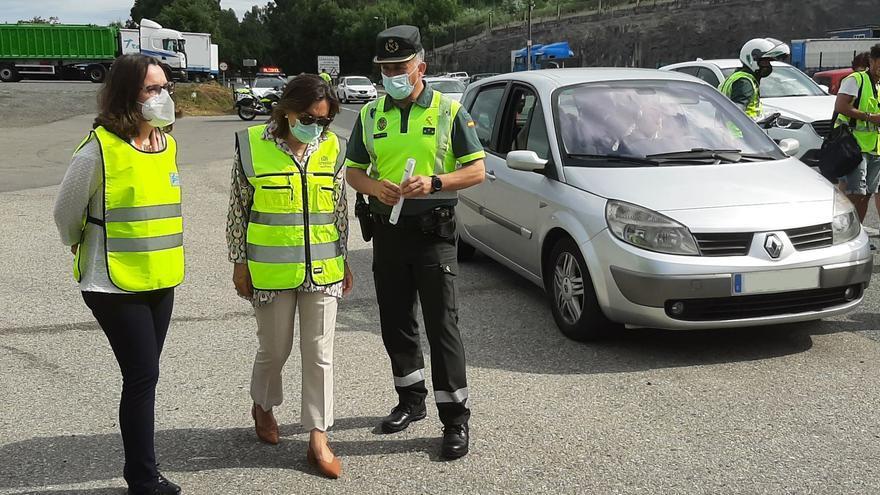 La Guardia Civil detecta un aumento del consumo de alcohol y drogas al volante en Pontevedra
