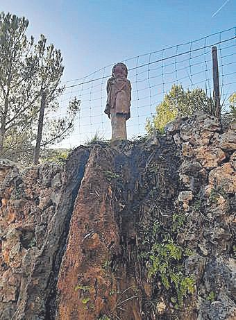 La figura que desapareció en 2006 en Raixa y que finalmente no se restituirá.