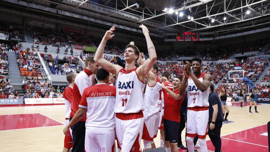 Històrica classificació del Baxi Manresa per al play-off de l'ACB