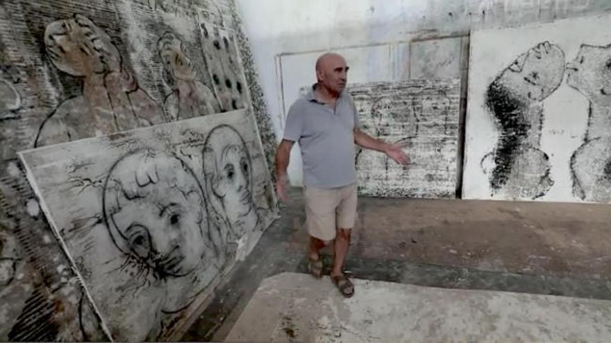 """Joan Bennàssar: """"El arte se ha empobrecido porque  la gente le ha perdido el respeto"""""""