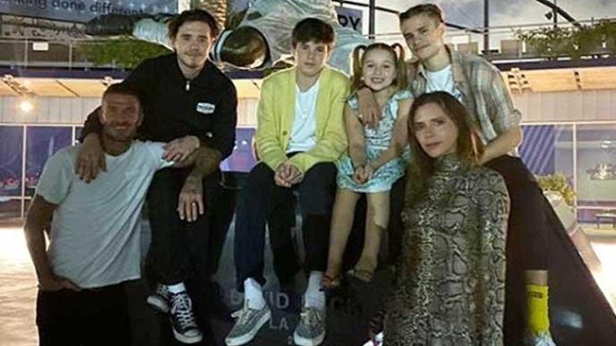 Los padrinos más 'chic' para los hijos de Beckham