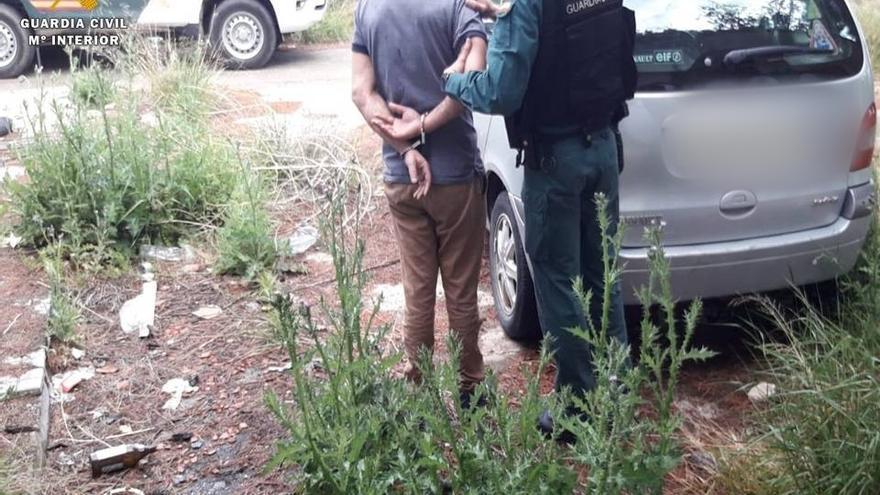Tres detenidos 'in fraganti' cuando sustraían tuberías de cobre en Osera de Ebro