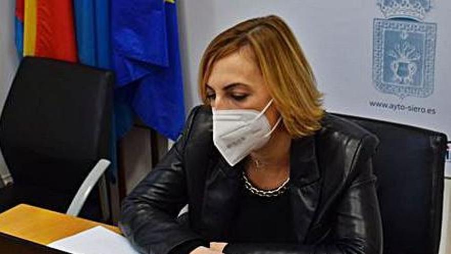 Susana Madera, ayer, durante la presentación de los datos. | R. S. A.