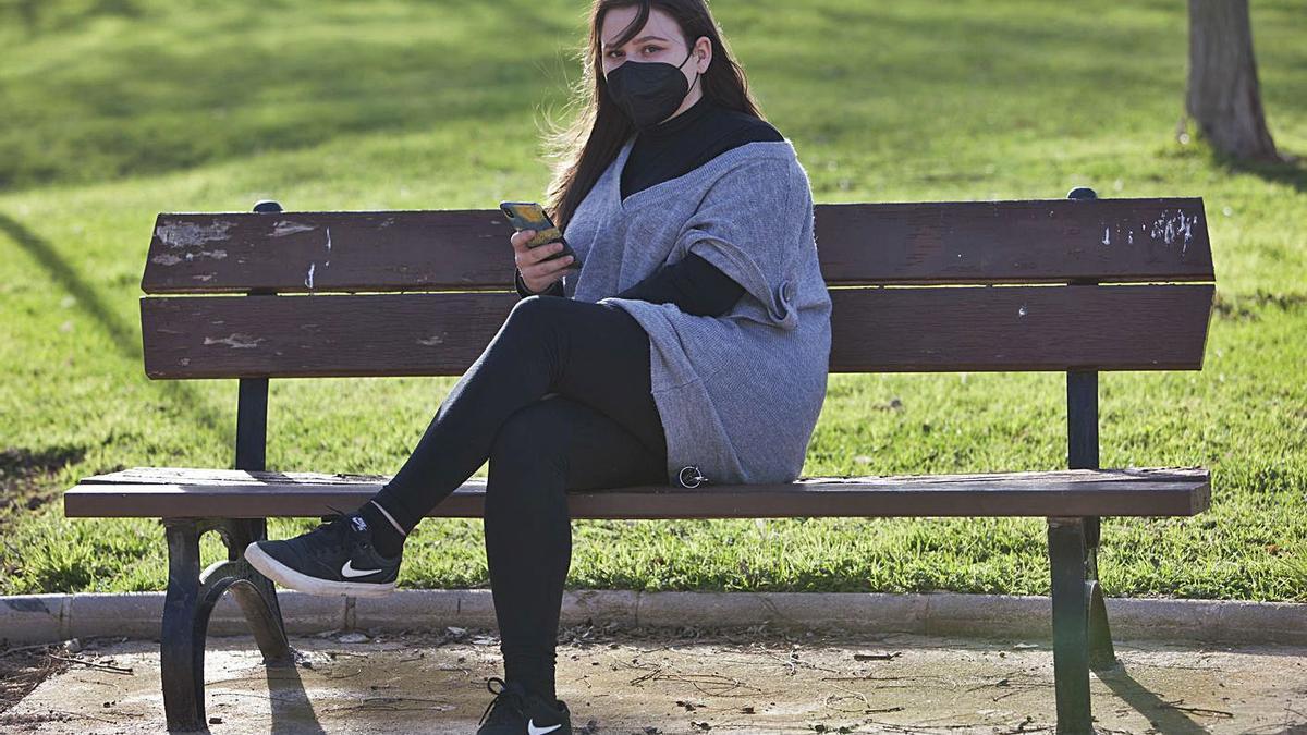 Elizabeth, de 19 años, la joven valenciana que ha destapado los retos anteriores. | FERNANDO BUSTAMANTE