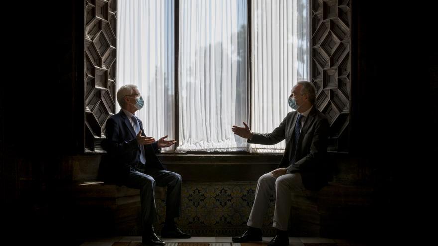 Conversaciones en el Palau