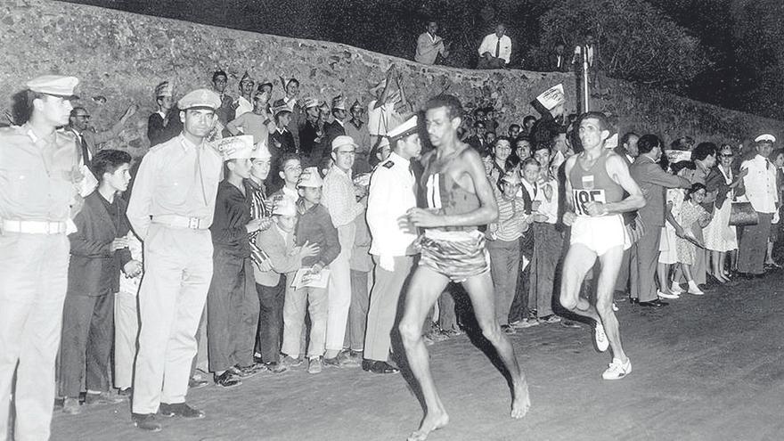 Roma, 1960: el corredor descalzo