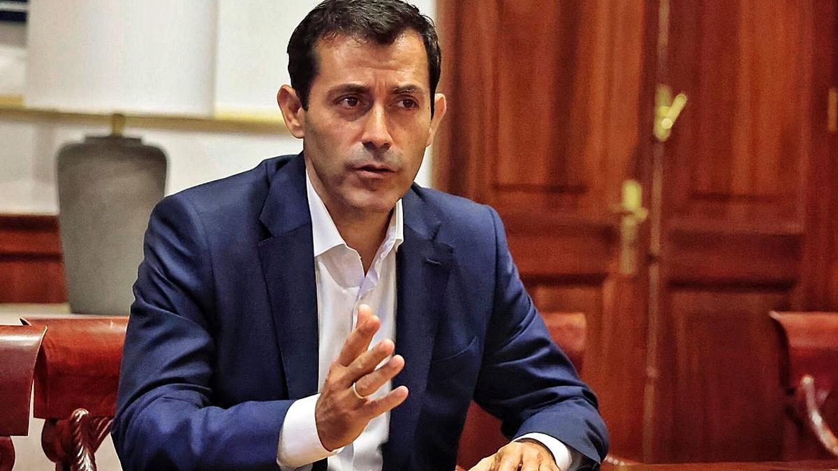 Juan José Martínez, Concejal de Hacienda, Ayuntamiento de Santa Cruz.