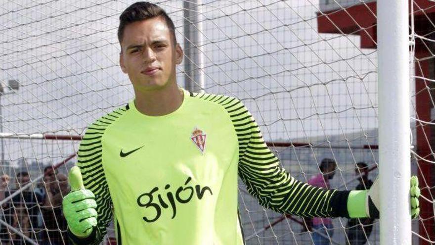 Óscar Whalley pugnará por la titularidad con Álvaro Campos en el Castellón