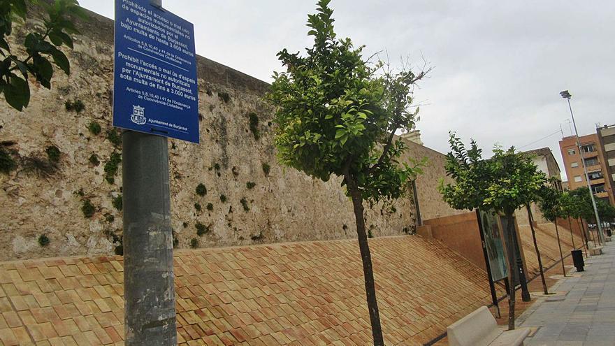 Burjassot multa con 3.000 euros la invasión de monumentos