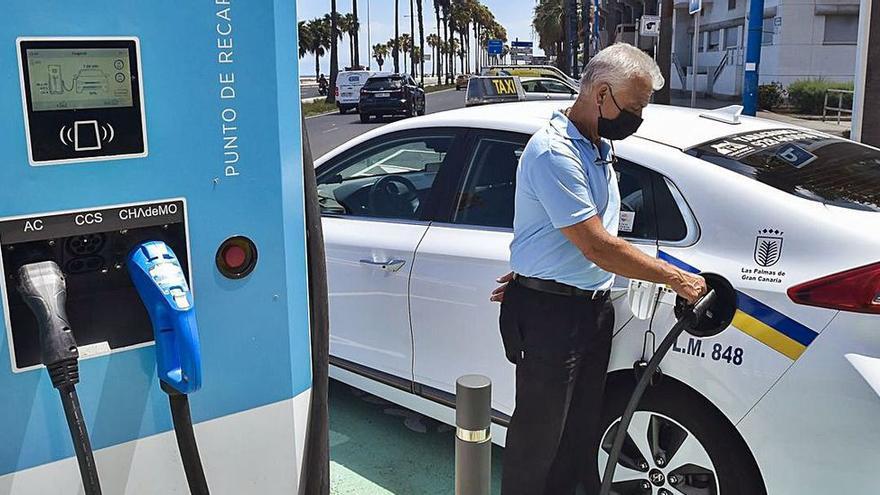 La energía que suministra Sagulpa a coches eléctricos reduce 60.000 kilos de  CO2