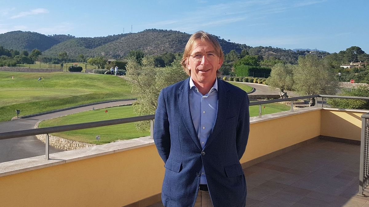 Bernardino Jaume Mulet, presidente de la Federación Balear de Golf
