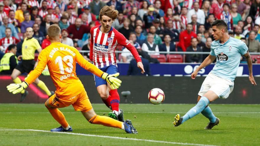 Griezmann y Oblak lideran el triunfo del Atlético
