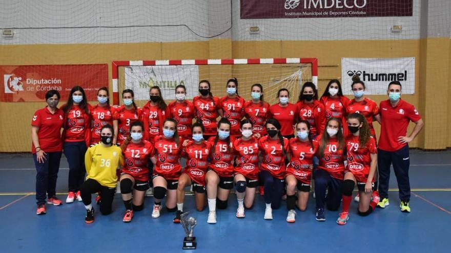 El Córdoba BM logra una plata andaluza y dos títulos provinciales de base