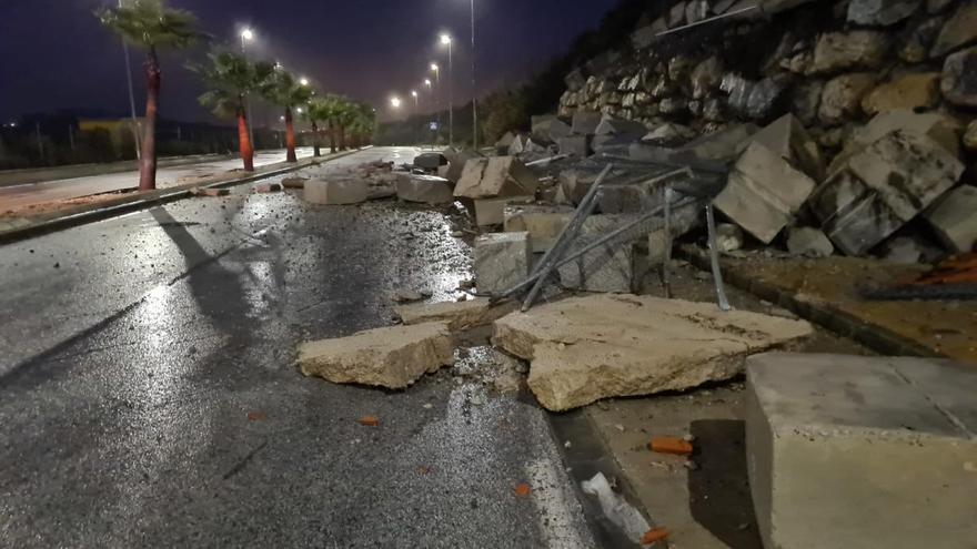 Málaga acumula el mayor número de incidencias causadas por Filomena en Andalucía