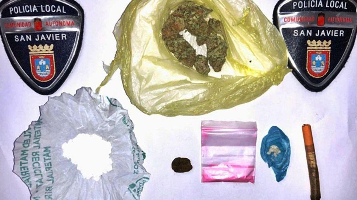 La cocaína rosa se instala en la Región de Murcia