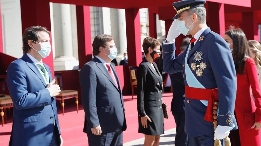 """Mañueco destaca el """"papel esencial"""" de Castilla y León en la """"construcción histórica de España"""""""