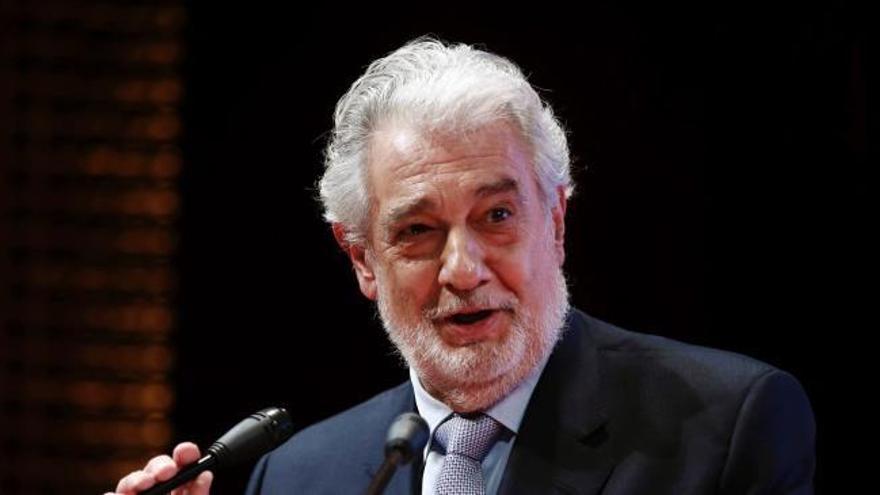 Plácido Domingo renuncia a volver a cantar en la Opera de Nueva York