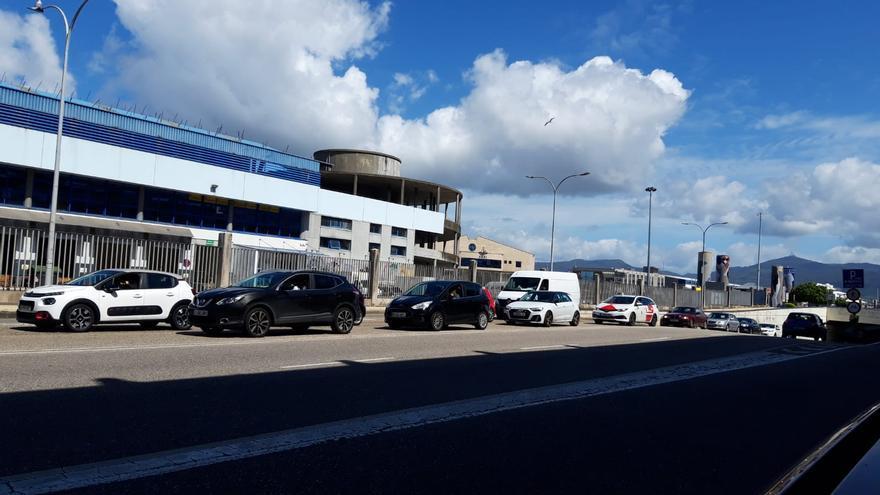 Tráfico en Vigo | ¿Por qué hai atoamento en Beiramar nun día festivo?
