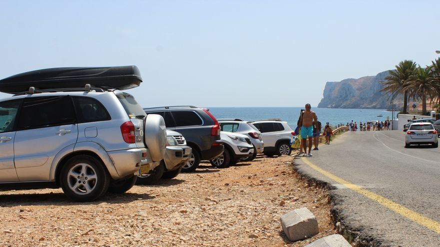 Dénia cerrará a los coches el tramo final de les Rotes el 1 de julio