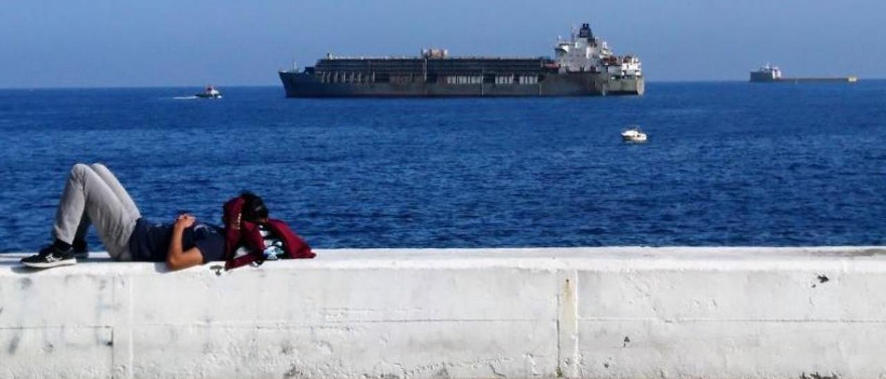 El barco ganadero 'Bader III', en una imagen de archivo.
