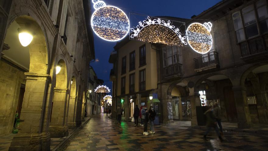 Encendido navideño en Avilés